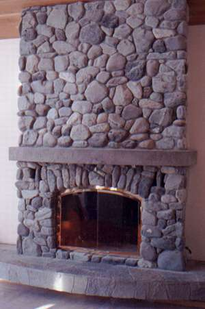 Does Paint Go Bad >> someone there is who does not love her wall - fireplace diy riverrock | Ask MetaFilter